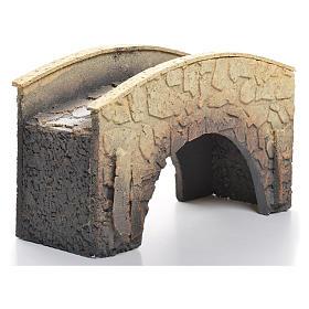 Pont arqué crèche liège 16x25x11cm s1