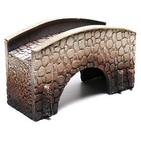 Pont arqué crèche liège 16x25x11cm s3