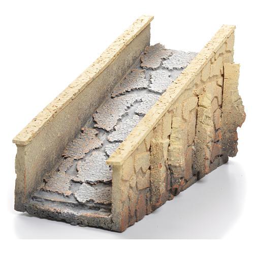 Ponte presepe sughero discesa 13x25x11 cm 2