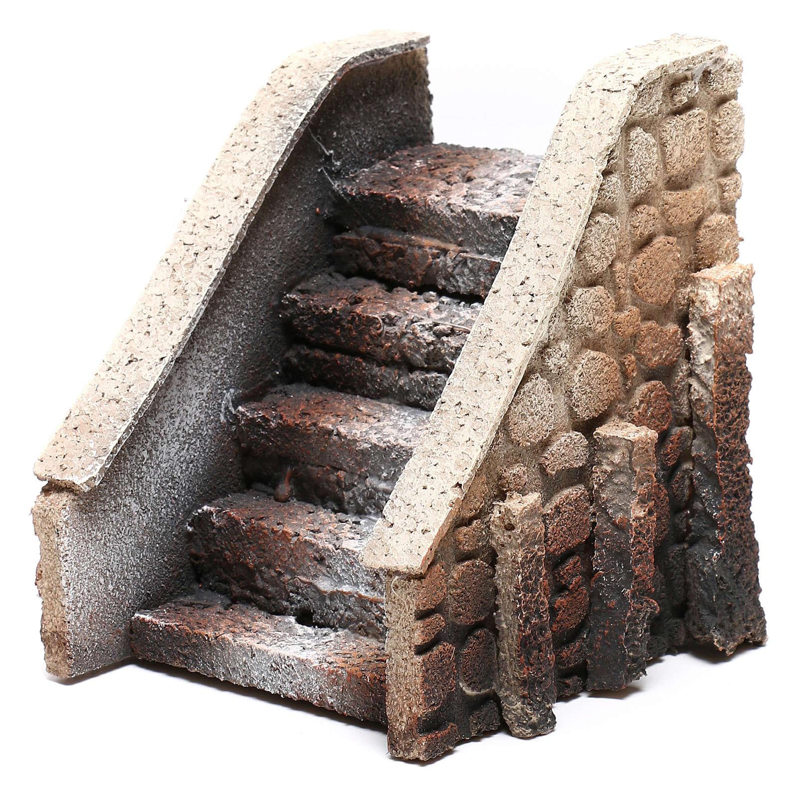 Escalera belén corcho 14x12x11 cm 4