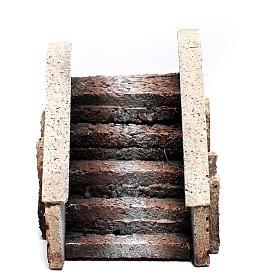 Escalera belén corcho 14x12x11 cm s1