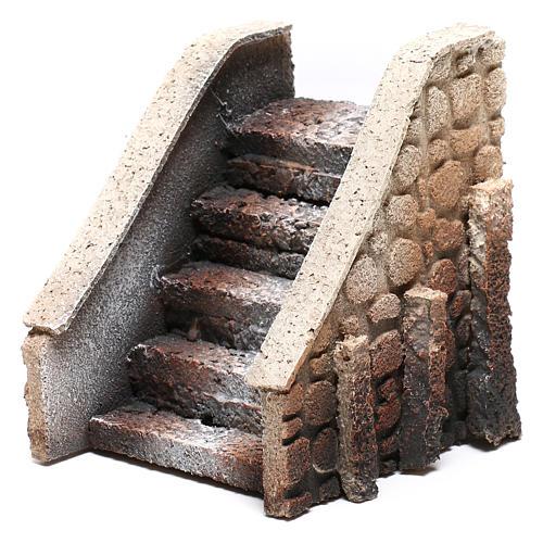 Escalera belén corcho 14x12x11 cm 2