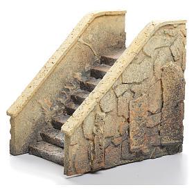 Escalier crèche liège 14x21x11cm s1