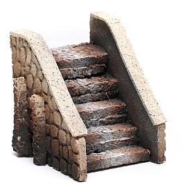 nativity scene stairs cork 14x12x11 cm s3
