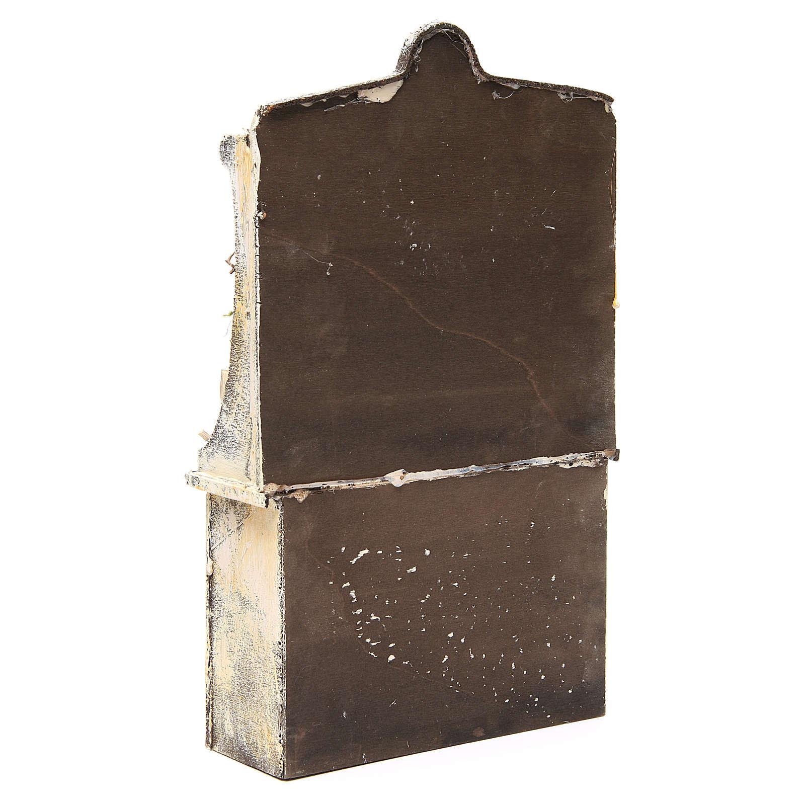 Banco del presepista cm 40x24x8,5 miniatura 4