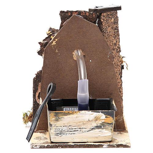 Fuente belén madera y corcho 14x11x11 cm modelos surtidos 2