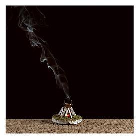 Round camp fire with smoke 4,5V 5x5cm s2