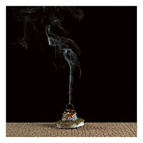 Fire Nativity with smoke 4,5V h. 6,5x3,5cm s2