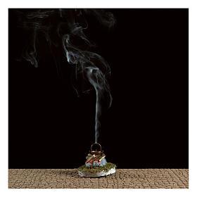 Fuoco presepe con fumo 4,5V h. 6,5x3,5cm s2