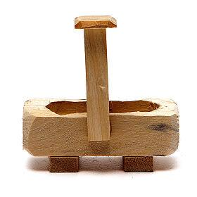 Little Fountain in wood 8x5x8cm s3