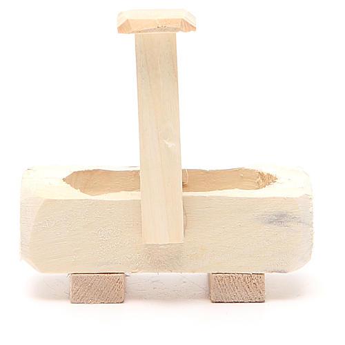 Fontanella legno 8x5x8 cm 3