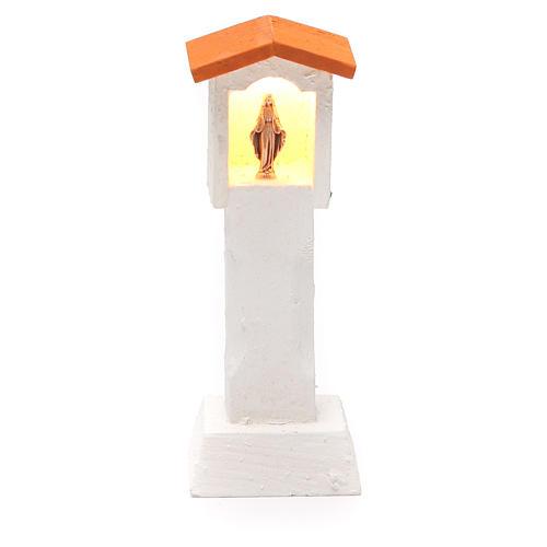 Niche en bois avec lumière 4,5V 13x5x5 cm 1