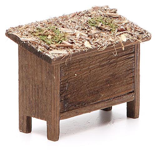 Arnie per api in legno e vimini h. 6x7x3 cm 3