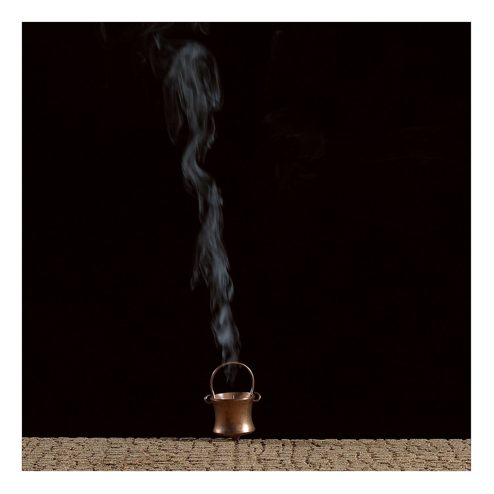 Smoke generator with cauldron 4,5V 4