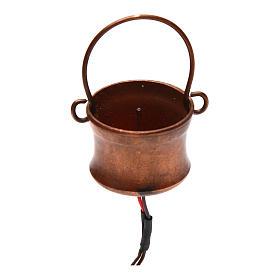 Centrales et effets crèche noël: Générateur de fumée avec marmite 4,5V
