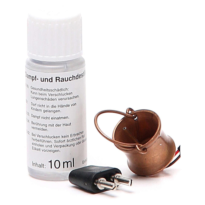 Marmite générateur de fumée et flacon 4,5V 4