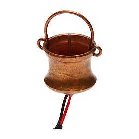 Cauldron smoke generating and flask 4,5V s1