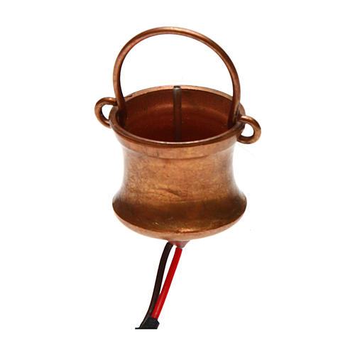 Cauldron smoke generating and flask 4,5V 1