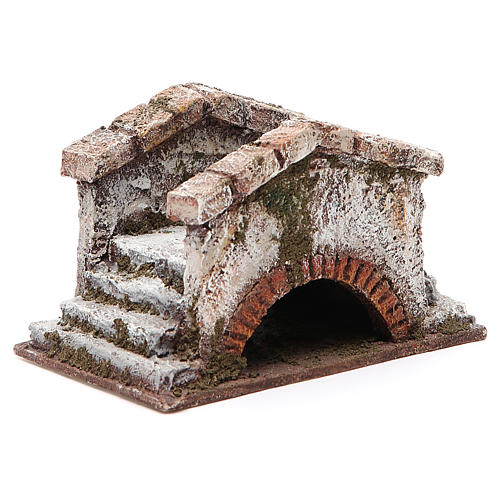 Ponte presepe antico 8x15x9 per statue 10 cm | vendita online su
