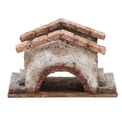 Old Bridge for nativity 10x18x11cm 1
