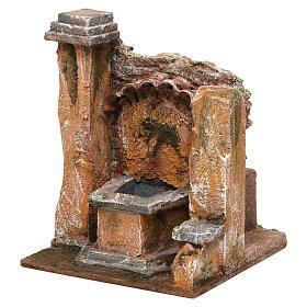 Antique Fountain for nativity 18x16x16cm s2