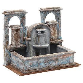 Fontaine crèche effet chutes d'eau 20x25x15 cm s3