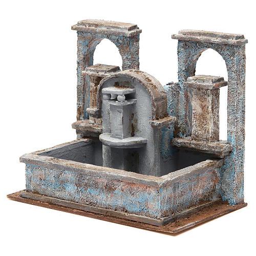 Fontaine crèche effet chutes d'eau 20x25x15 cm 2