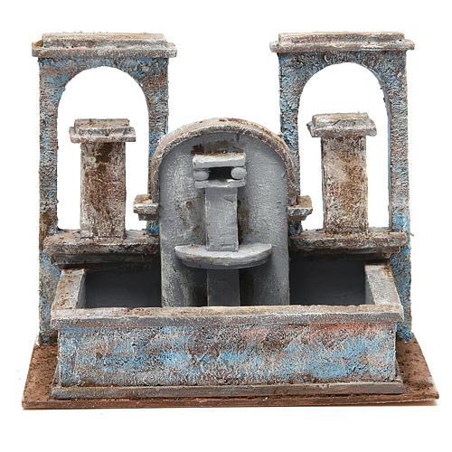 Fontana presepe effetto cascata 20x25x15 cm 1