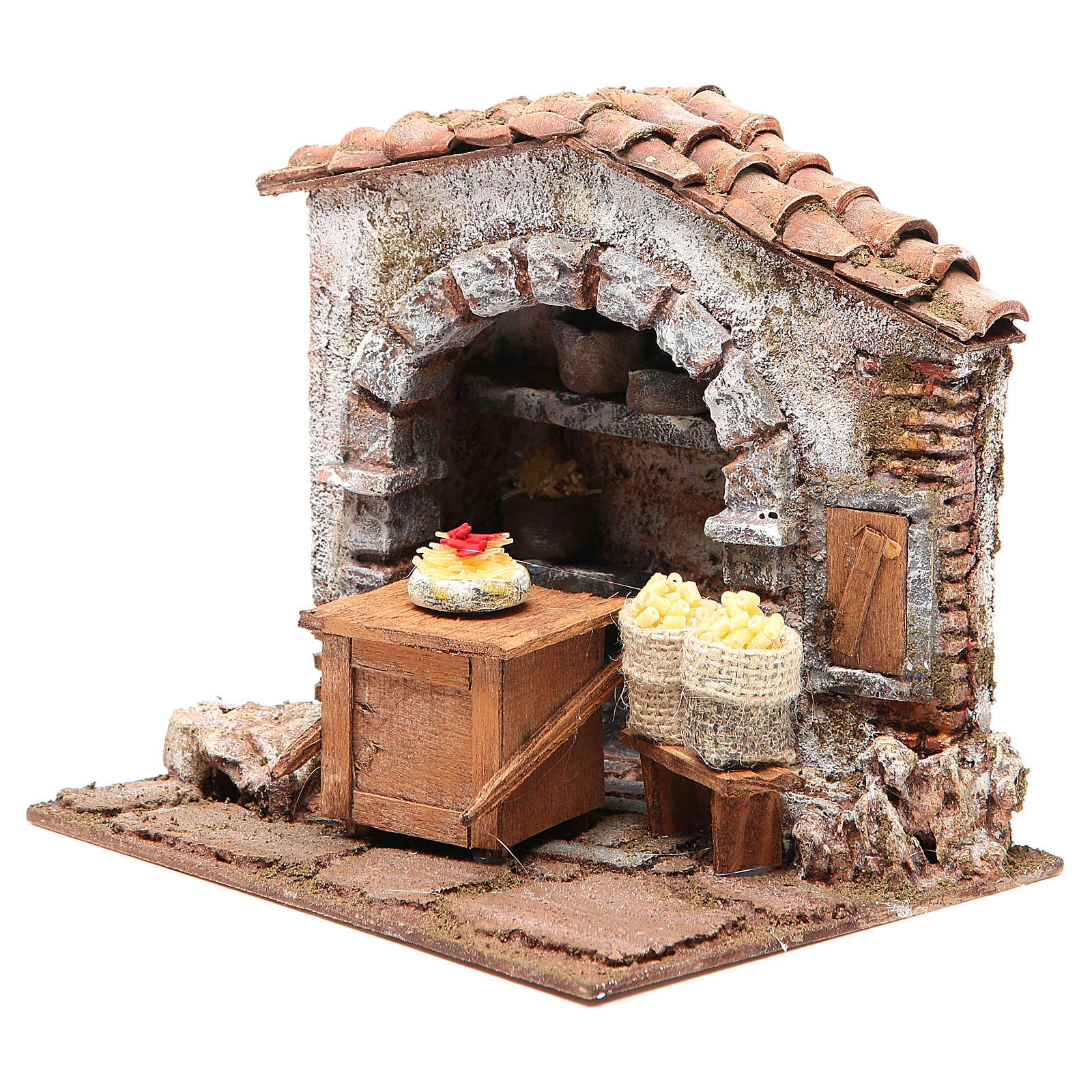 Pasta maker shop for nativity 10cm 4