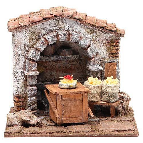 Pasta maker shop for nativity 10cm 1