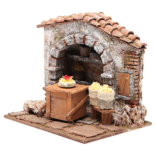 Pasta maker shop for nativity 10cm 2
