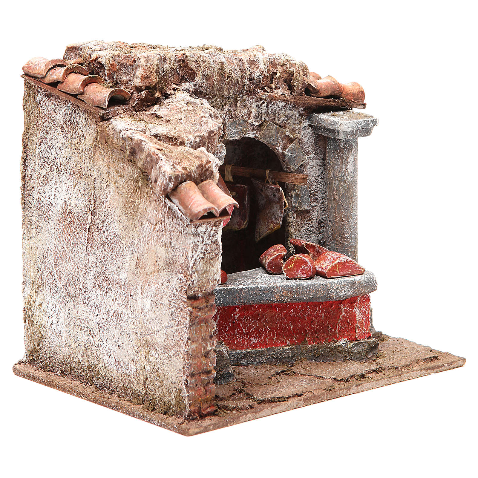 Tienda carnes y embutidos para belén cm 10 4