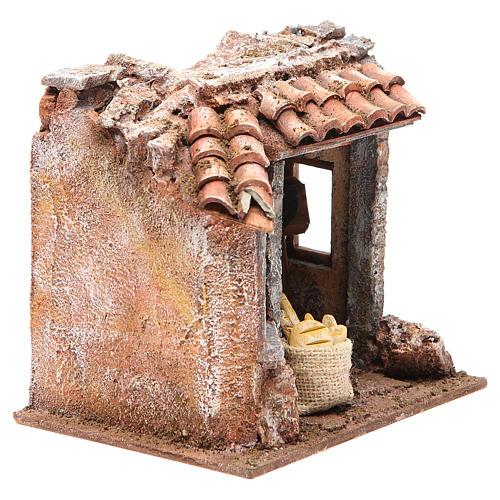 Baker shop for nativity 10cm 3