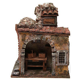 Blacksmith shop for nativity 10cm s1