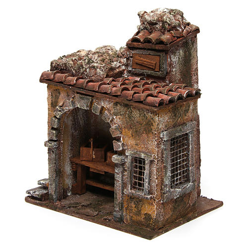 Blacksmith shop for nativity 10cm 2