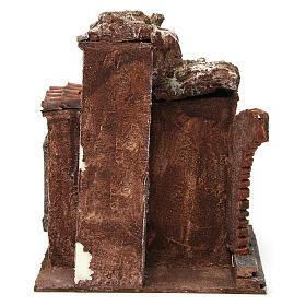 Loja do ferreiro ambientação presépio com figuras altura média 10 cm s4