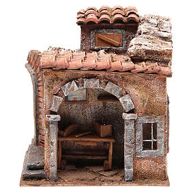 Blacksmith shop for nativity 10cm s1