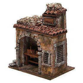 Blacksmith shop for nativity 10cm s2