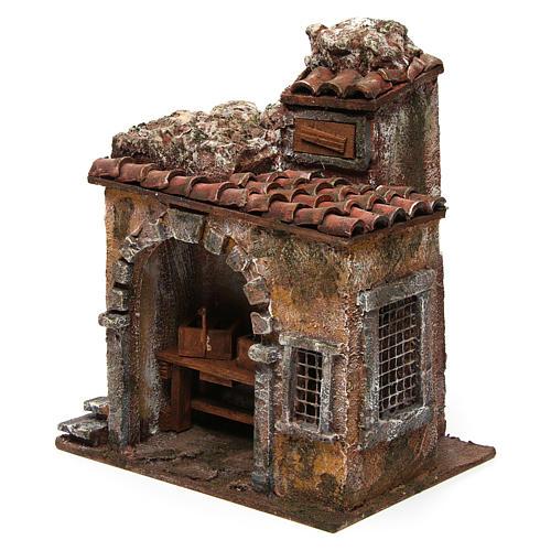 Blacksmith shop for nativity 10cm 2