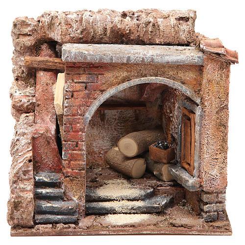 Joiner's workshop for nativity 10cm 1