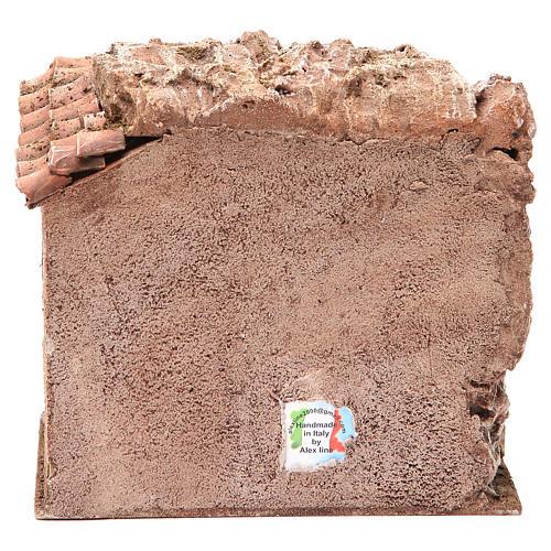 Bottega del falegname per presepe cm 10 4