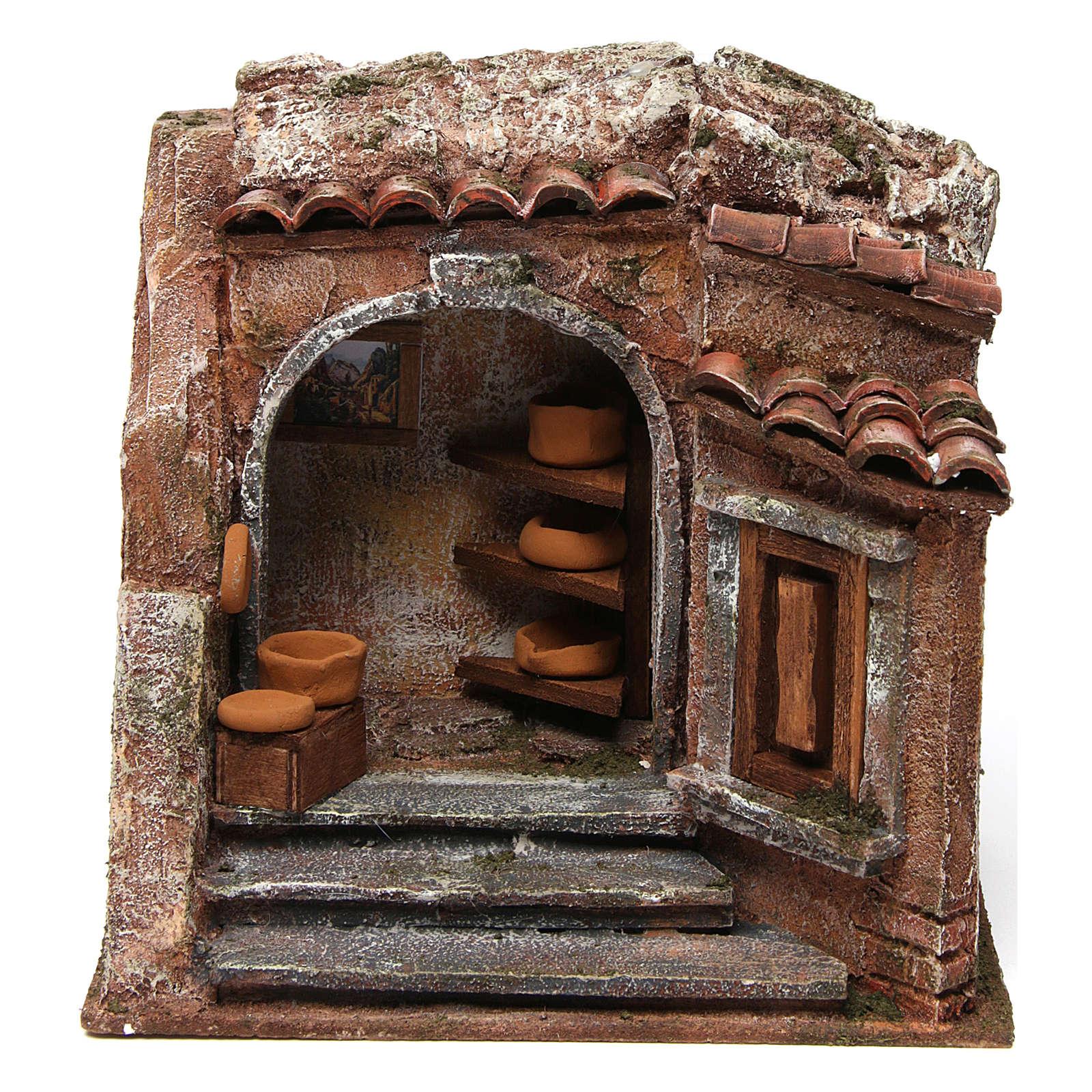 Atelier du potier pour crèche 10 cm 4