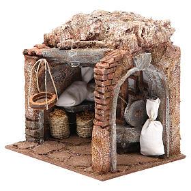 Atelier du meunier pour crèche 10 cm s2