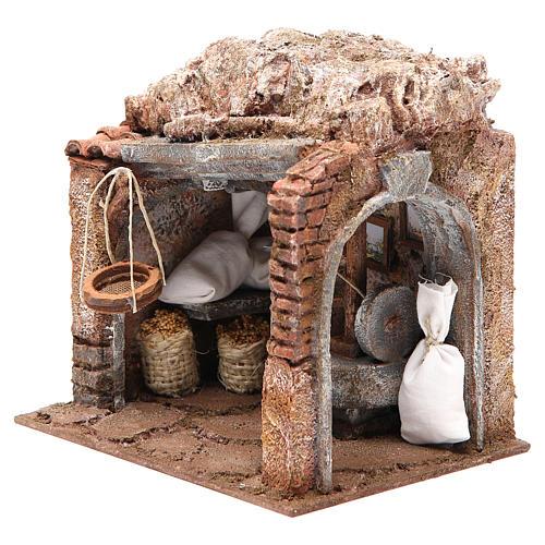 Atelier du meunier pour crèche 10 cm 2