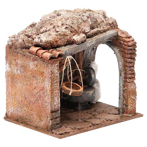 Atelier du meunier pour crèche 10 cm 3