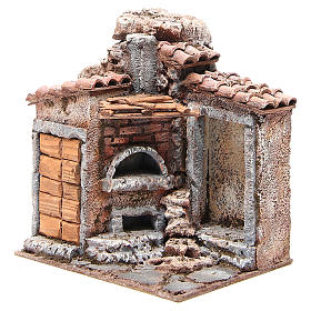 Simple Hut for Nativity 20x25x15cm s2