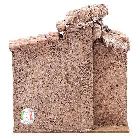 Simple Hut for Nativity 20x25x15cm s4