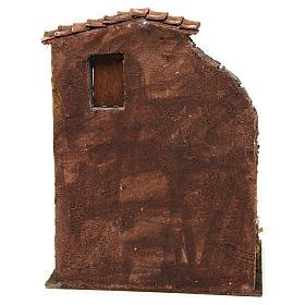 Casa con establo para el belén 30x24x18 cm s4