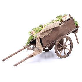 Wóz z owocami szopka neapolitańska 24 cm s4