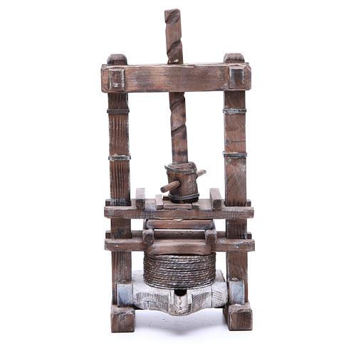 Presse pour aïl 24 cm crèche napolitaine 1